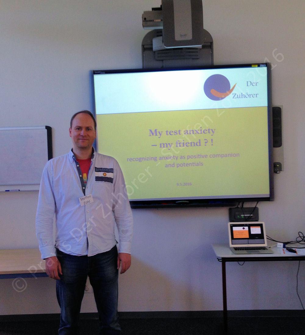 Praxis Der Zuhörer - Steffen Zöhl, Vortrag BBS