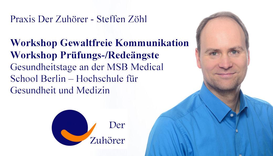 Gfk Workshop Gewaltfreie Kommunikation MSB © Praxis Der Zuhörer - Steffen Zöhl, 201