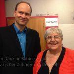 mit Sabine Asgodom © Praxis Der Zuhörer - Steffen Zöhl, 2018