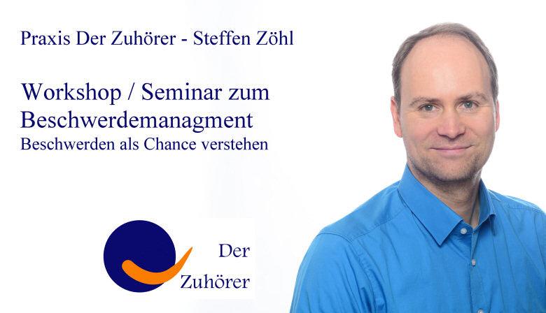 Beschwerdemanagement Workshop Seminar Kundenbeschwerde professionell Beschwerde Kommunikation in Konfliktsituation