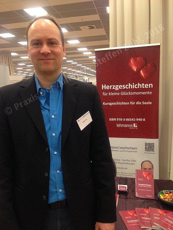 Praxis Der Zuhörer - Steffen Zöhl auf der Buchmesse BuchBerlin 2018 24.11. / 25.11.18