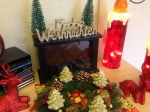 weihnachtliche Lesung im Käthe Dorsch-Haus Berlin 4.12.18