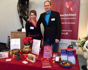 Messe Alternative Heilmethoden Bürgerhaus Zehlendorf 1.12.18 Vortrag Hypnosetherapie bei Ängsten