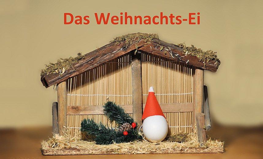 Das Weihnachts-Ei - eine moderne Weihnachtsgeschichte. #Herzgeschichten, #SinnSationsGeschichten