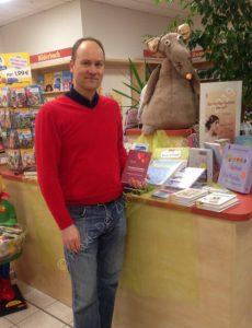 Herzgeschichten Lesung in der Buchhandlung Leseratte in Falkensee Praxis Der Zuhörer - Steffen Zöhl