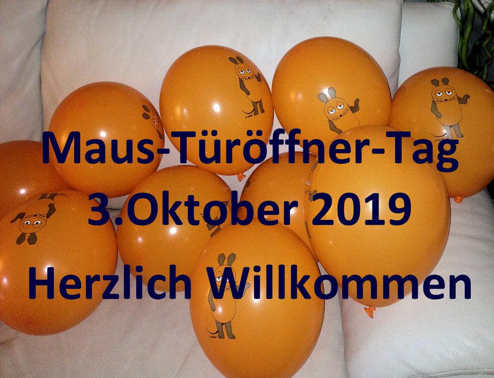 Maus Türöffner-Tag 2019