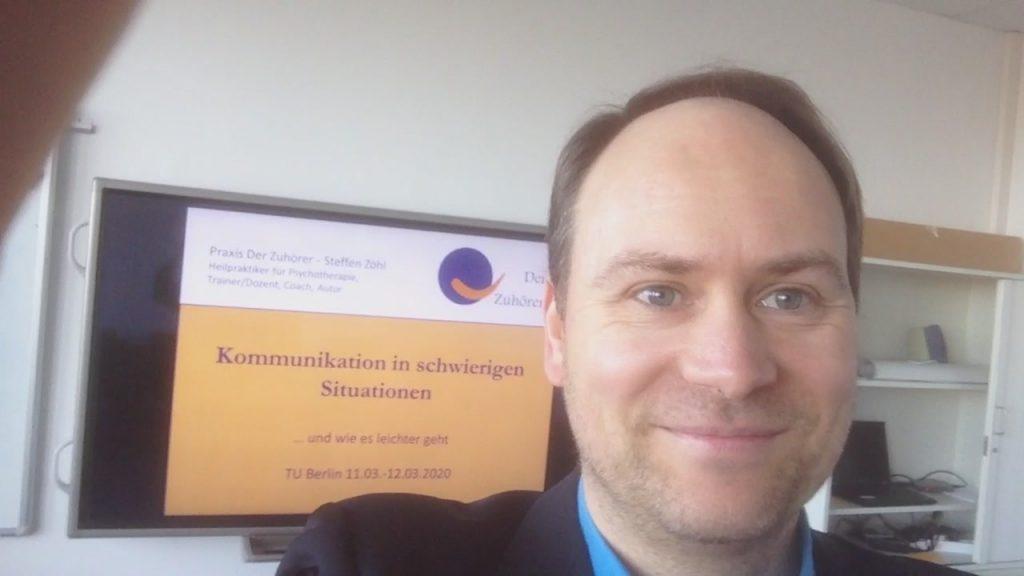 TU Berlin Kommunikation in schwierigen Situationen März 2020
